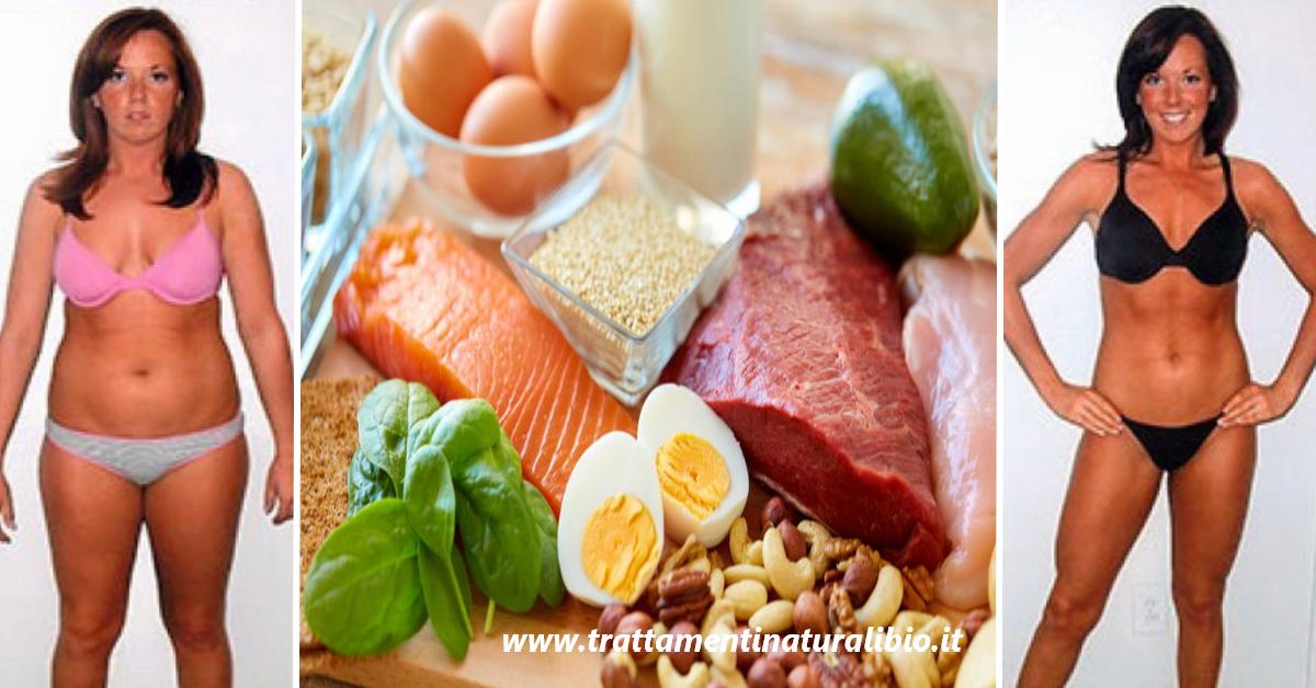 La migliore dieta per perdere 7 chili in 7 giorni: segui il menù