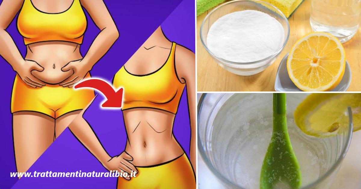 Come bruciare il grasso con il bicarbonato di sodio