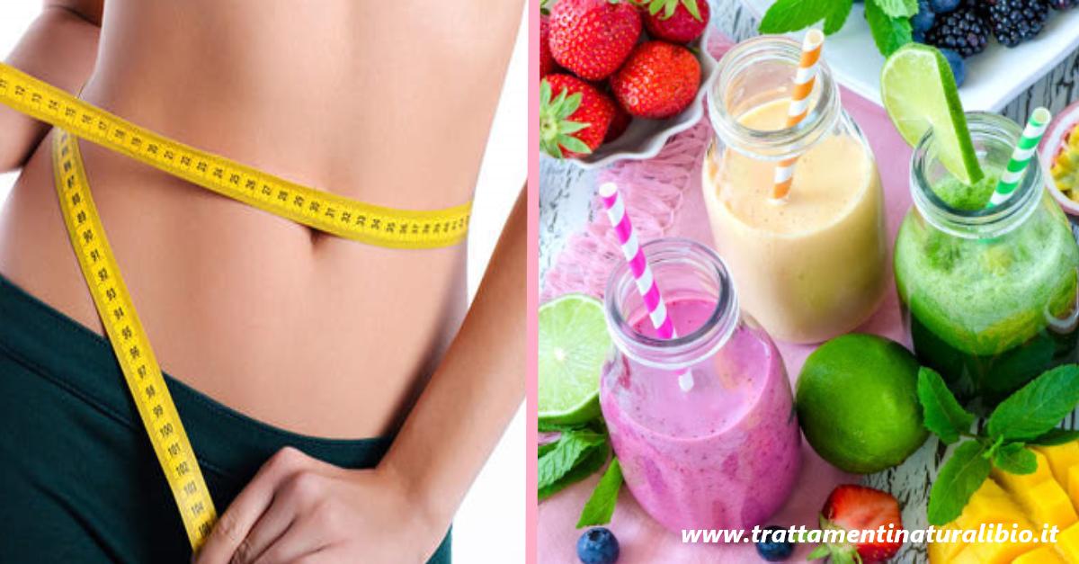 Dieta Detox: 10 smoothie in 10 giorni per perdere fino a 10 chili