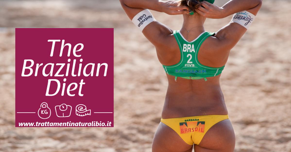 La Dieta Brasiliana per perdere 12 chili in 1 mese