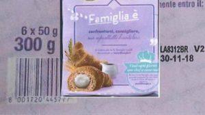 Salmonella: Ministero Salute richiama i Croissant Bauli