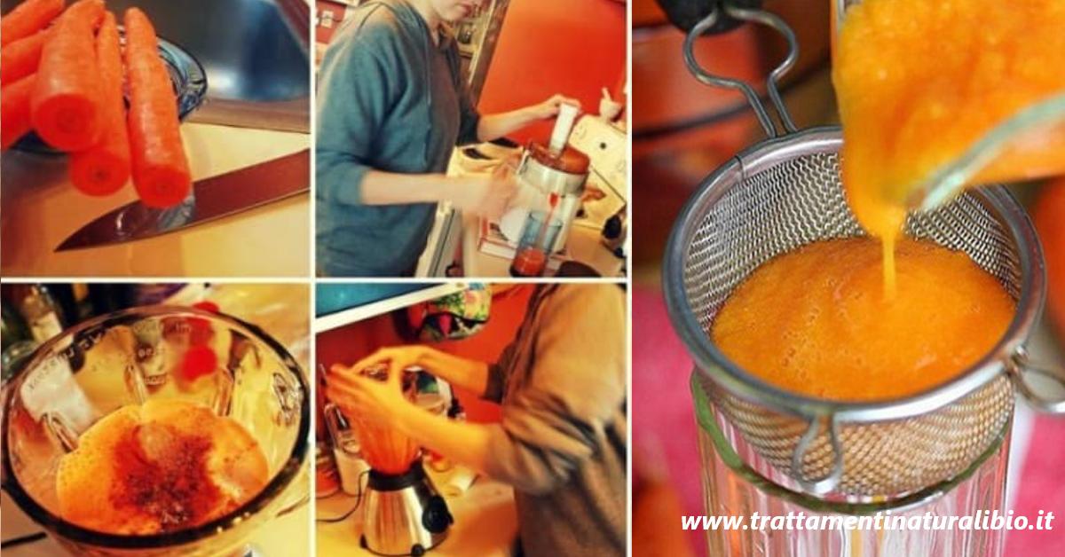 Come preparare lo sciroppo di carota che cura gastrite e raffreddore. Ecco la ricetta
