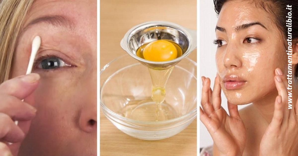 Gli incredibili benefici dell'albume d'uovo per la pelle che sicuramente non conosci