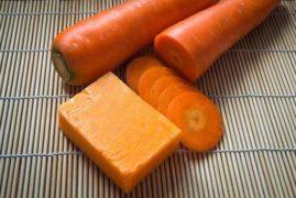 Il sapone naturale alla carota