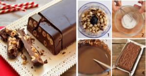 Torrone al cioccolato: gustoso e adatto alla dieta, senza zucchero, farina e latte. Ecco la ricetta