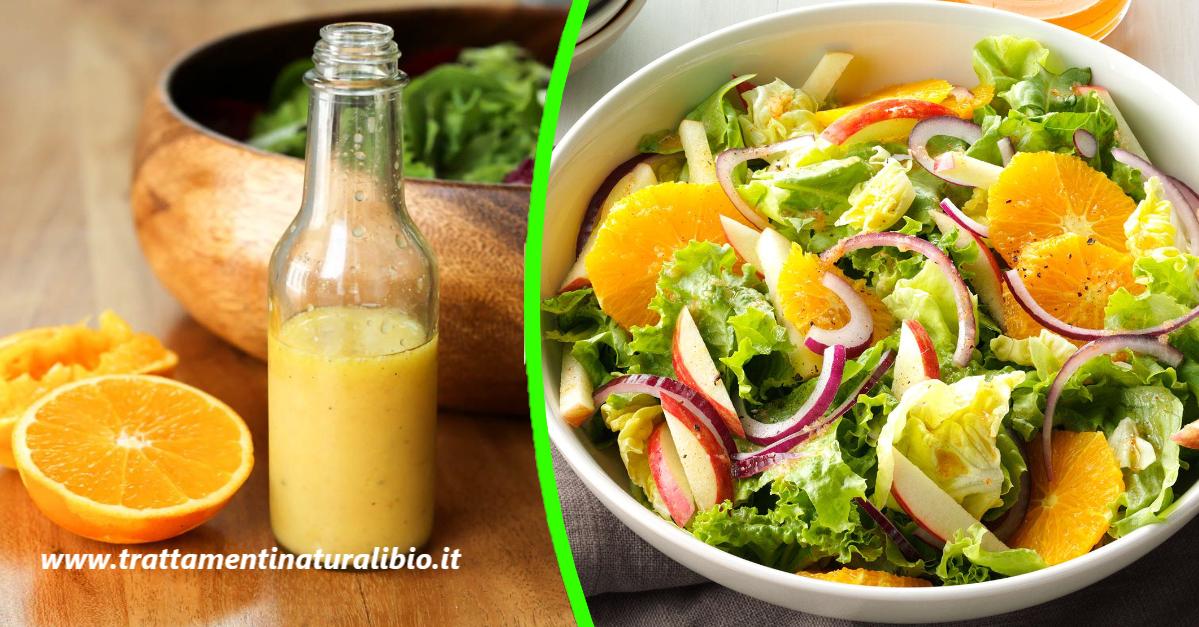 Come condire l'insalata con succo d'arancia. Ecco 3 modi semplici e gustosi