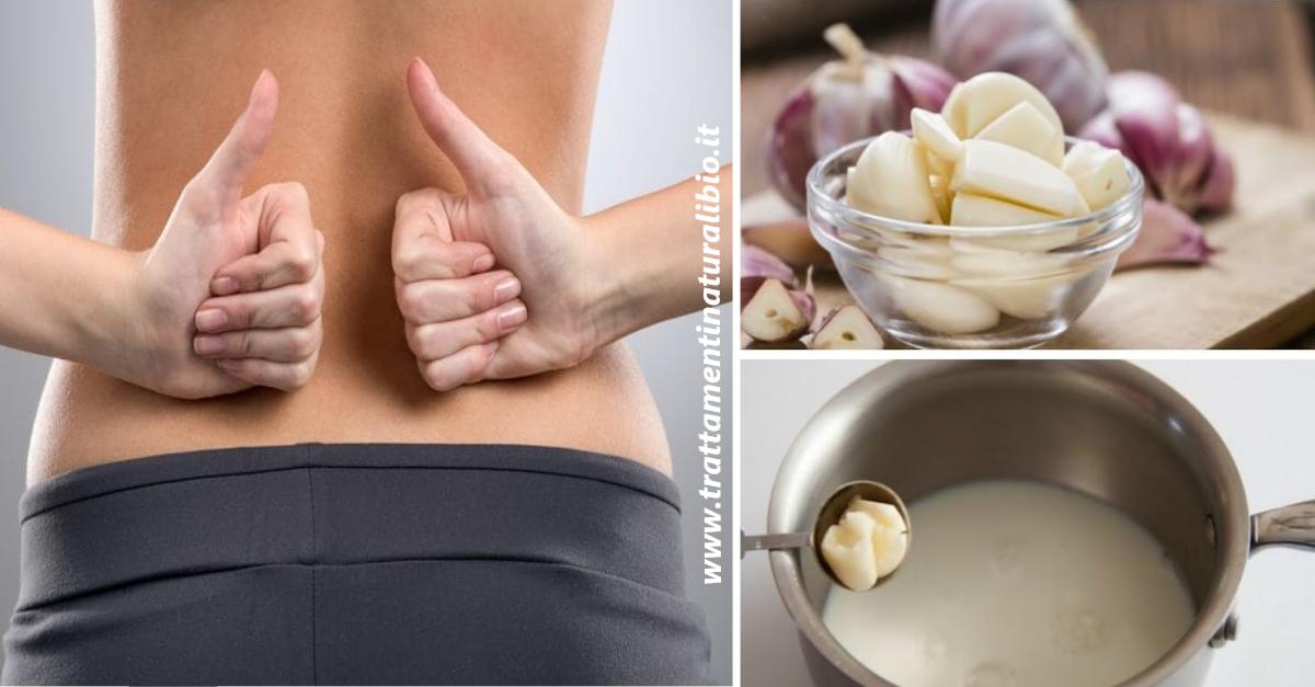 Latte all'aglio: il rimedio definitivo contro sciatica e mal di schiena