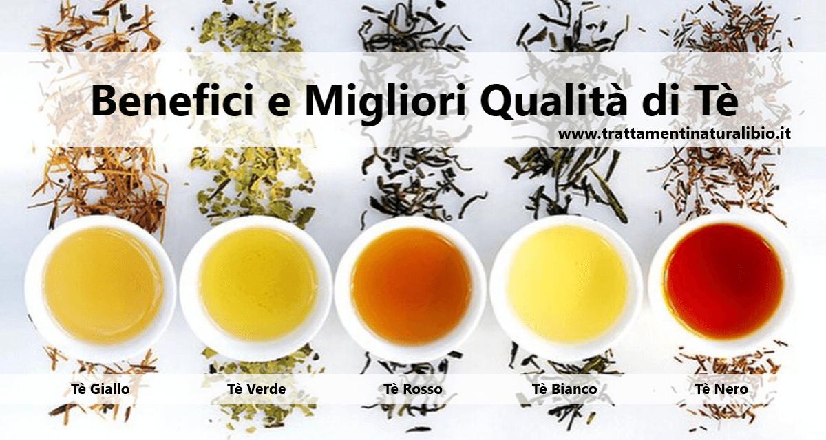 Proprietà Benefiche del Tè