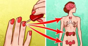 Smalto sulle unghie