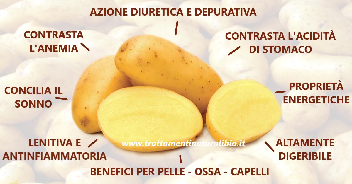 Proprietà Benefiche della Patata