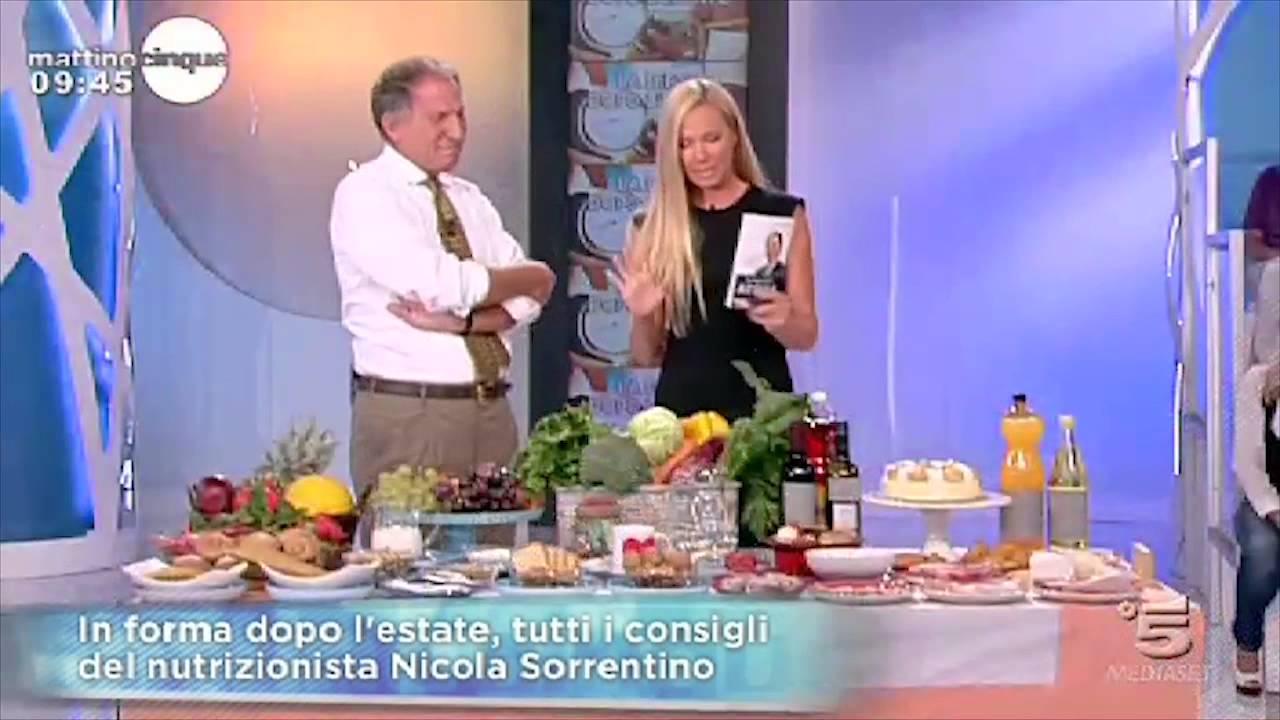 La dieta dell'Acqua di Nicola Sorrentino per perdere fino a 1Kg al giorno