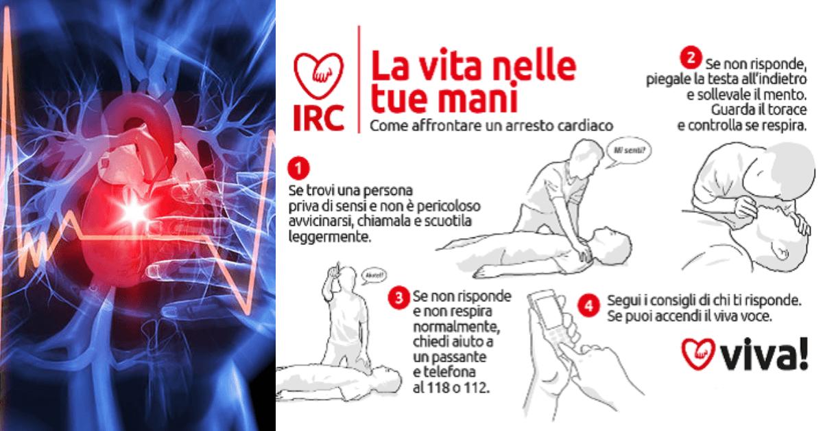 Primo Soccorso: Cosa fare in caso di arresto cardiaco