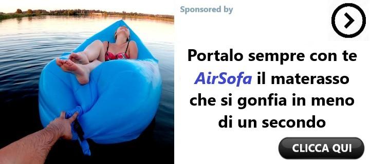 AirSofa il materasso portatile