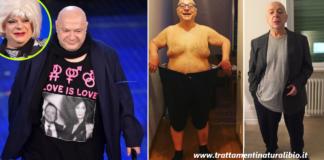 La vera dieta di Platinette: ecco come ha perso 30 chili in 6 mesi