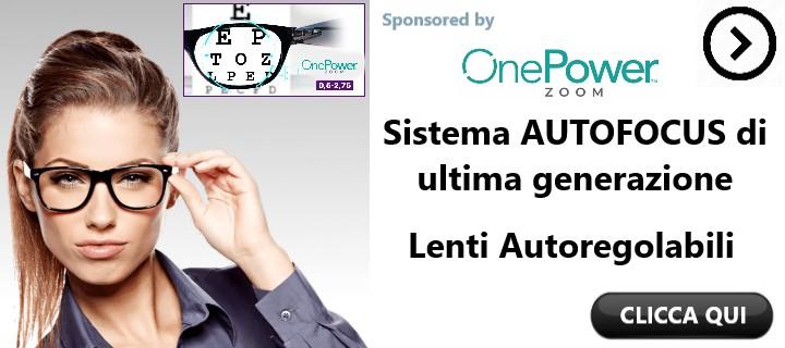 One Power Zoom occhiali Autoregolanti Funziona