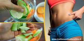 Dieta dell'Acqua Sassy per perdere 5kg a settimana: Menu settimanale