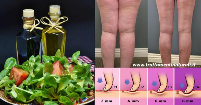 Dieta linfatica depurativa per gambe sane e in forma: Menu settimanale