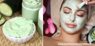Maschera viso fai da te al cetriolo per una pelle luminosa e perfetta già dalle prime applicazioni
