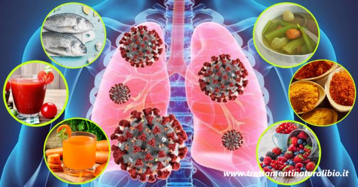 14 alimenti che rinforzano i polmoni e riducono il rischio di infezioni batteriche e virali