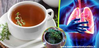 Il timo contro le infezioni respiratorie, distrugge lo streptococco e il virus dell'influenza