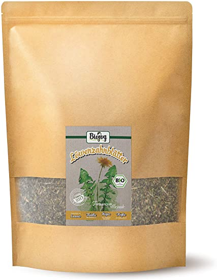 Biojoy Tisana di foglie di Tarassaco comune BIO - Taraxacum officinale (0,5kg)