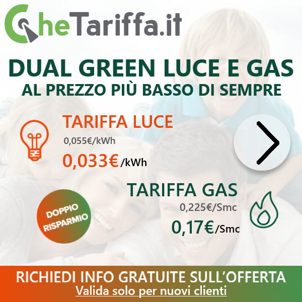 DUAL GREEN LUCE E GAS