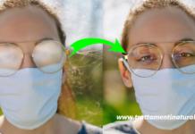 Ecco come non far appannare gli occhiali con la mascherina senza spendere 1 euro