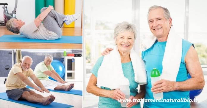 Ginnastica dolce per anziani: esercizi per perdere peso e migliorare la vita dei nonni