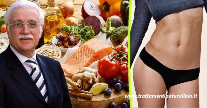 La dieta del dottor Calabrese per perdere fino a 7 chili in un mese: menu 4 settimane
