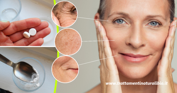 Come preparare la maschera viso a base di Aspirina che elimina rughe e macchie con effetto immediato