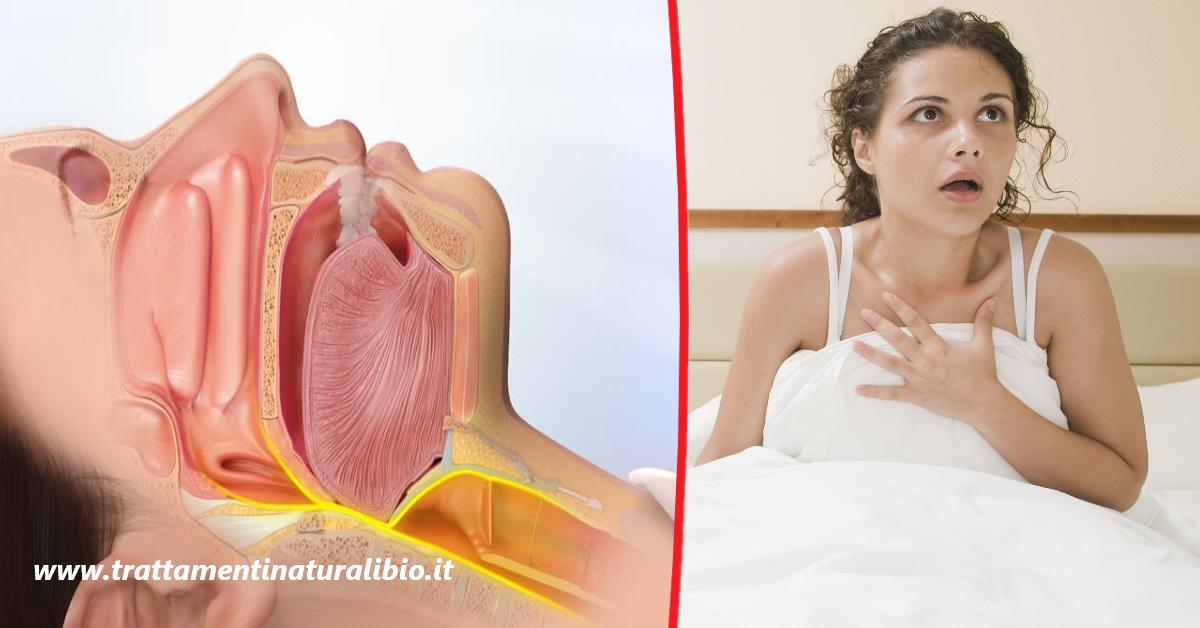 Sindrome delle apnee notturne: sintomi, cause, rimedi