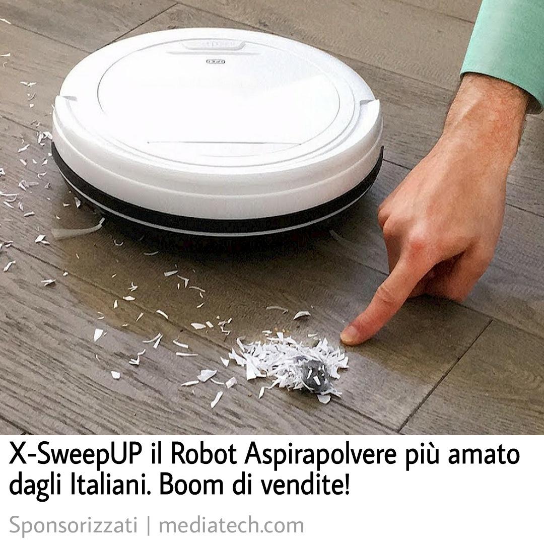 X-SweepUP Robot Aspirapolvere Funziona