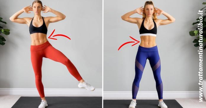 7 esercizi addominali da fare in piedi per bruciare il grasso e scolpirli in 10 minuti