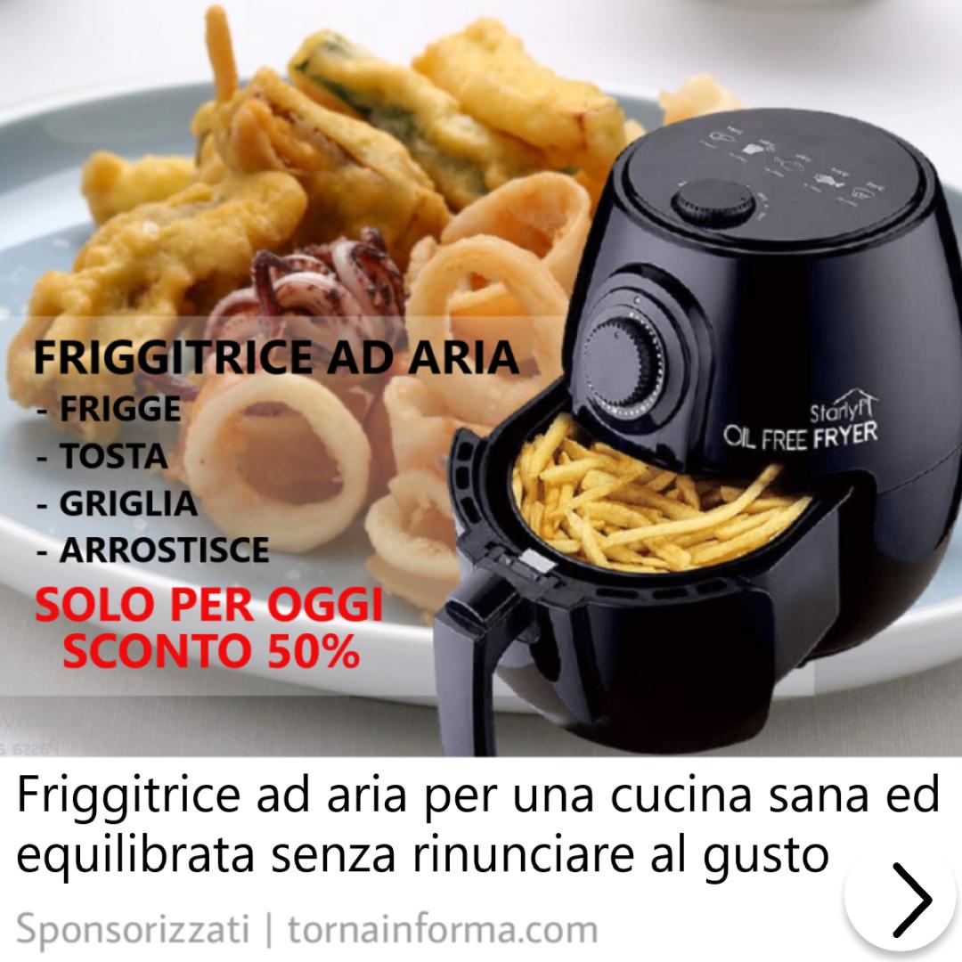 Friggitrice ad aria Oil free fryer funziona