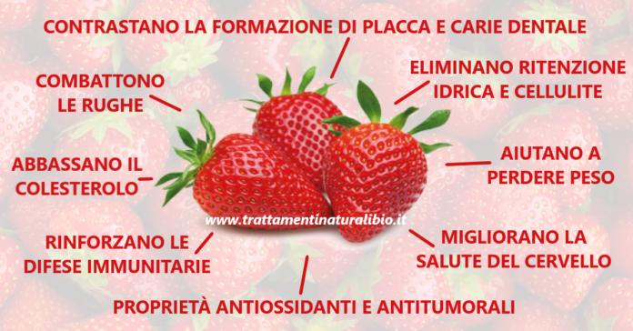 Gli incredibili benefici delle fragole: 10 motivi per mangiarle più spesso