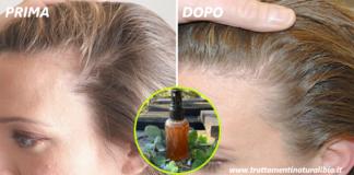 Lozione miracolosa per capelli fai da te che blocca la caduta e accelera la crescita