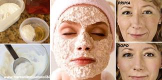 Maschere viso fai da te a base di avena contro rughe e macchie della pelle