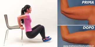 7 esercizi mirati per dimagrire e tonificare le braccia in 14 giorni