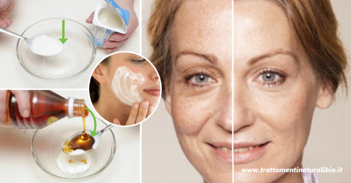 Come preparare la maschera viso allo yogurt che elimina rughe e macchie in modo rapido ed efficace