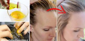 Come usare l'uovo per bloccare la caduta dei capelli e accelerarne la crescita