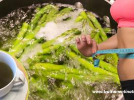 Acqua di cottura degli asparagi per depurarsi e sgonfiarsi in una settimana