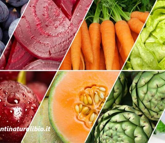 I 5 colori del benessere: 5 porzioni al giorno per vivere in salute