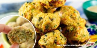 Polpette di pollo e verdure al forno: sfiziose e gustose pronte in 5 minuti