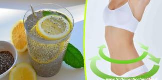 Semi di chia e limone: l'acqua che elimina i depositi di grasso in 3 giorni