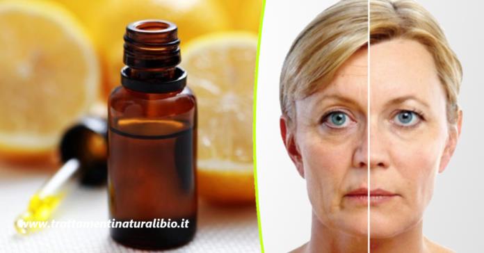 Siero lifting alla vitamina C per ringiovanire il viso di 10 anni con effetto immediato
