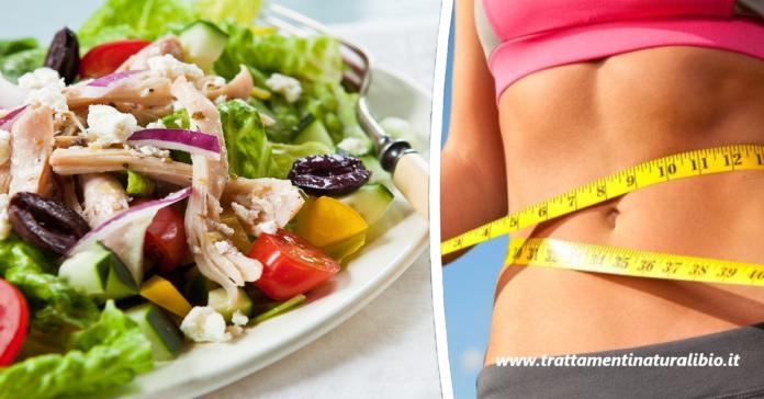 La dieta dell'insalata per perdere 4 chili in 7 giorni: menu completo